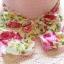 หมวกปีกกว้าง หมวกเที่ยวทะเล หมวกปีกว้างสีชมพูอ่อนน่ารักๆค่ะ แต่งโบว์ใหญ่ลายดอกไม้วินเทจรอบเก๋ ๆ thumbnail 5