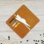 กระเป๋าสตางค์ผู้ชาย หนังแท้ 100% ใส่มือถือและเสียบสายชาร์ตได้ รุ่น Phone Wallet Leather Brown thumbnail 5