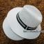 หมวกปานามา,หมวกทรงปานามา หมวกคาวบอย,หมวกเคาบอย,ปานามาปีกกว้าง สินค้าพร้อมส่งค่ะ thumbnail 2