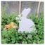 Wooden Bunny - White thumbnail 9