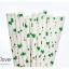 Single Pattern Paper Straws หลอดกระดาษ ใช้สำหรับดื่มน้ำ thumbnail 3