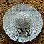 หมวกปีกกว้าง หมวกไปทะเล หมวกสานโทนน้ำตาล แต่งโบว์ลายเก๋ๆ thumbnail 2