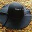 หมวกปีกกว้าง หมวกเที่ยวทะเล หมวกผ้าวูล สีดำ แต่งโบว์รอบ รอบศรีษะ 60 cm / ปีกกว้าง 10 cm thumbnail 3