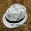 หมวกปานามา หมวกสาน หมวกปานามาปีกสั้นแต่งลาย โทนน้ำตาลอ่อน คาดดำ พร้อมส่งค่ะ thumbnail 1