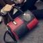 กระเป๋าถือขนาดกลาง กระเป๋าสะพายไหล่ สะพายข้าง Hand Bag Red Black สีแดงดำ thumbnail 4