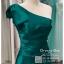 รหัส ชุดราตรีสั้น :PF140 ชุดราตรีสั้นผ้าซาติน เดรสออกงานไหล่เฉียง ชุดไปงานแต่งงานสีเขียว ชุดแซกงานสวยมาก แบบประดับโบว์เพิ่มความน่ารักคะ thumbnail 3
