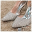 รหัส รองเท้าไปงาน : RR004 รองเท้าเจ้าสาวสีเงิน พร้อมส่ง ตกแต่งกริตเตอร์ สวยสง่าดูดีแบบเจ้าหญิง ใส่เป็นรองเท้าคู่กับชุดเจ้าสาว ชุดแต่งงาน ชุดงานหมั้น หรือ ใส่เป็นรองเท้าออกงาน กลางวัน กลางคืน สวยสง่าดูดีมากคะ ราคาถูกกว่าห้างเยอะ thumbnail 2