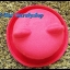 หมวกชาลี หมวกชาลีมีหูสีแดง ผ้าสักหลาด รอบศรีษะ 57 cm ปีกกว้าง 4.5 cm thumbnail 2