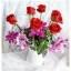 Shabby Chic Ceramic Vase แจกันเซรามิค ทรงเหยือก สีขาว thumbnail 2