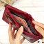 กระเป๋าสตางค์หนังแท้ หนังนิ่ม สีแดงเลือดนก รุ่น Contacts two Zipper Red ส่งพร้อมกล่อง thumbnail 6