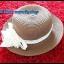 หมวกใส่เที่ยวทะเล หมวกสาน หมวกทรงปานามา หมวกแฟชั่น **รูปถ่ายจากสินค้าจริงค่ะ** thumbnail 3