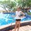 ชุดว่ายน้ำสีขาว กางเกงดำ รอบอก 30-34 นิ้ว รอบเอว 22-28 สะโพก 32-38 นิ้ว เนื้อผ้าดี งานสวยค่ะ thumbnail 6