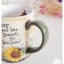 Ceramic Mug - Sunflowers แก้วเซรามิค ลายดอกไม้ thumbnail 4