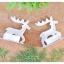 White Reindeer Candle Holders เชิงเทียนกวางสีขาว thumbnail 12