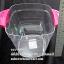 ถังน้ำแข็งพลาสติกทรงสี่เหลี่ยม เนื้อ PS หูจับคละสี 013-RW9224 thumbnail 3