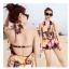 ชุดว่ายน้ำ เซต 3 ชิ้น สีน้ำตาล รอบอก 32-36 สะโพก 30-36 นิ้ว ชุดด้านนอก เป็นชุดกางเกงขาสั้นสวยมากค่ะ thumbnail 1