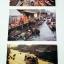 โปสการ์ดท่องเที่ยวไทย ชุด 3 ใบ 3 แบบ รูปตลาดน้ำ