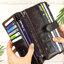 กระเป๋าสตางค์หนังแท้ทรงยาว สีน้ำตาลกาแฟ เก็บของได้เยอะมาก เเยกชิ้นส่วนได้ ใส่มืือถือได้ thumbnail 11