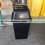 ถังขยะเนื้อโพลีเอทธิลีน 50 ลิตร 001-TC50NS Trash poly ethylene. 50 liter. 001-TC50NS thumbnail 5