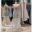 รหัส ชุดราตรี :PF185 ชุดแซกซีทรูตกแต่งลูกไม้ ชุดราตรียาวหรูสีเทาไหล่เฉียงสวยเก๋มากๆ เหมาะสำหรับเป็นชุดไปงานแต่งงาน งานกลางคืน กาล่าดินเนอร์แบบเริ่ดๆ thumbnail 1