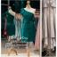 รหัส ชุดราตรีสั้น :PF140 ชุดราตรีสั้นผ้าซาติน เดรสออกงานไหล่เฉียง ชุดไปงานแต่งงานสีเขียว ชุดแซกงานสวยมาก แบบประดับโบว์เพิ่มความน่ารักคะ thumbnail 1
