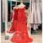 รหัส ชุดราตรี :PF185 ชุดแซกซีทรูตกแต่งลูกไม้ ชุดราตรียาวหรูสีแดงไหล่เฉียงสวยเก๋มากๆ เหมาะสำหรับงานแต่งงาน งานกลางคืน กาล่าดินเนอร์แบบเริ่ดๆ thumbnail 2