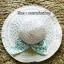 หมวกปีกกว้าง หมวกเที่ยวทะเล หมวกสานโทนน้ำตาล แต่งโบว์วินเทจรอบเก๋ ๆ thumbnail 4