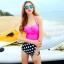 ชุดว่ายน้ำ ไซส์ xl ทูพีช ตัวเสื้อสีบานเย็น รอบอก 36-38 นิ้ว กางเกง เอว 30-34 สะโพก 36-40 นิ้ว สวย เก๋ มากๆค่ะ thumbnail 1