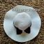 หมวกปีกกว้าง หมวกเที่ยวทะเล หมวกปีกว้างสีครีม คาดโบว์ใหญ่ลายจุดเก๋ๆ รอบศรีษะ 59 cm / ปีกกว้าง 11 cm ***ถ่ายจากสินค้าจริงที่ขายค่ะ*** thumbnail 3