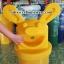 ถังขยะแฟนซี หูกระต่าย 001-KB-023,Fancy ass trash bin thailand thumbnail 4