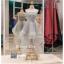 รหัส ชุดราตรียาว : PF008 ชุดราตรียาว เดรสออกงาน ชุดไปงานแต่งงาน ชุดแซก สีเทา หน้าสั้นหลังยาวสวยๆ ประดับโบว์ที่เอว หมาะสำหรับงานแต่งงาน งานกลางคืน กาล่าดินเนอร์ thumbnail 1