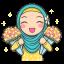 Flower Hijab 2 thumbnail 1