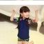 ชุดว่ายน้ำเด็ก ไซส์xl รอบตัว 22-28 นิ้ว กางเกง เอว 22-26 นิ้ว ค่ะ thumbnail 4