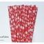 Single Pattern Paper Straws หลอดกระดาษ ใช้สำหรับดื่มน้ำ thumbnail 9