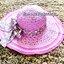 หมวกปีกกว้าง หมวกเที่ยวทะเล หมวกสานโทนสีชมพูน่ารักๆค่ะ แต่งโบว์วินเทจรอบเก๋ ๆ thumbnail 2