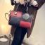 กระเป๋าถือขนาดกลาง กระเป๋าสะพายไหล่ สะพายข้าง Hand Bag Red Black สีแดงดำ thumbnail 2