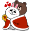 Brown & Cony's Cozy Winter Date thumbnail 1