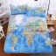 ชุดผ้าปูที่นอนแผนที่โลก thumbnail 1