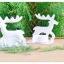 White Reindeer Candle Holders เชิงเทียนกวางสีขาว thumbnail 4