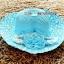 หมวกปีกกว้าง หมวกไปทะเล หมวกสาน โทนสีฟ้า แต่งโบว์กุหลาบรอบเก๋ๆ thumbnail 3