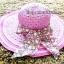 หมวกปีกกว้าง หมวกเที่ยวทะเล หมวกสานโทนสีชมพูน่ารักๆค่ะ แต่งโบว์วินเทจรอบเก๋ ๆ thumbnail 1