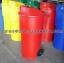 ถังขยะมีล้อเนื้อโพลีเอทธิลีน 001-TC150RD Trash polyethylene wheeled. 150 liter. 001-TC150RD thumbnail 1