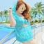 ชุดว่ายน้ำคนอ้วนเซต 3 ชิ้น สีฟ้า รอบอก 46-52 เอว 38-44 สะโพก 50-56 นิ้ว ตัวนอกรอบอก 52 นิ้วค่ะ สวยมากค่ะ thumbnail 1