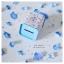Blue Tin Money Box กระปุกออมสินสีฟ้า งานสังกะสี thumbnail 3