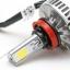 ไฟหน้า LED ขั้ว H8/9/11 รุ่น 3 COB Chip แสง 6000K thumbnail 4