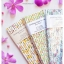 Floral Pattern Paper Straws หลอดกระดาษ ใช้สำหรับดื่มน้ำ thumbnail 13