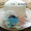 หมวกปีกกว้าง หมวกไปทะเล หมวกสาน สีครีม+น้ำตาล แต่งโบว์รอบเก๋ๆ thumbnail 2
