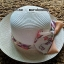 หมวกปีกกว้าง หมวกไปทะเล หมวกสาน สีน้ำตาลแต่งโบว์รอบเก๋ๆ รอบศรีษะ 64 cm / ปีกกว้าง 6.5 cm ***ถ่ายจากสินค้าจริงที่ขายค่ะ*** thumbnail 3