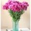 Green Glass Vase แจกันแก้วสีเขียว ลายนูน thumbnail 1
