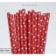Single Pattern Paper Straws หลอดกระดาษ ใช้สำหรับดื่มน้ำ thumbnail 8